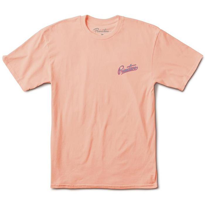 Primitive Going Nowhere T-Shirt Salmon