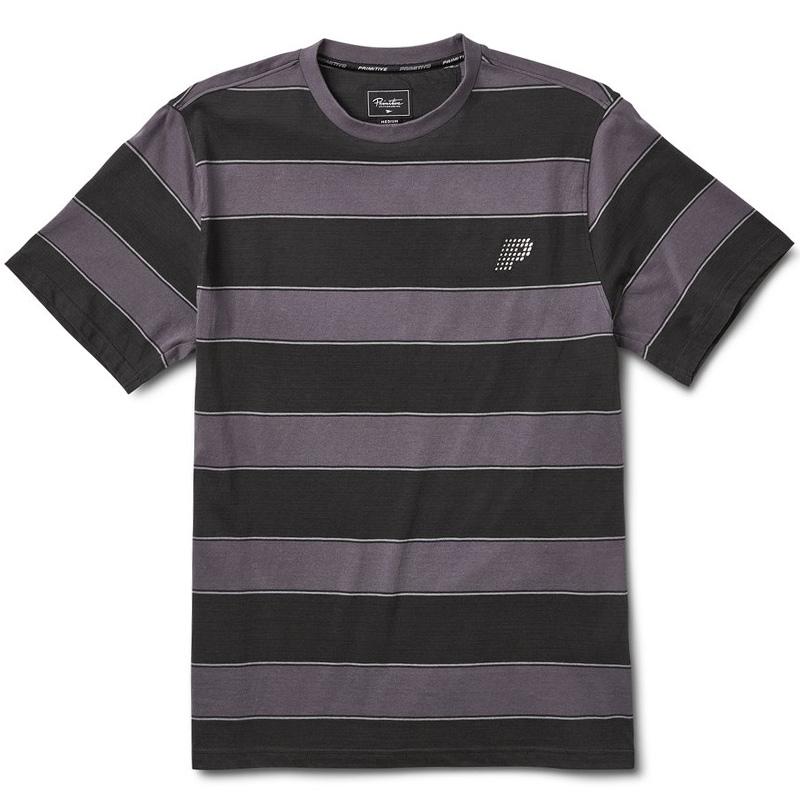 Primitive Hi Eight Crewneck T-Shirt Black