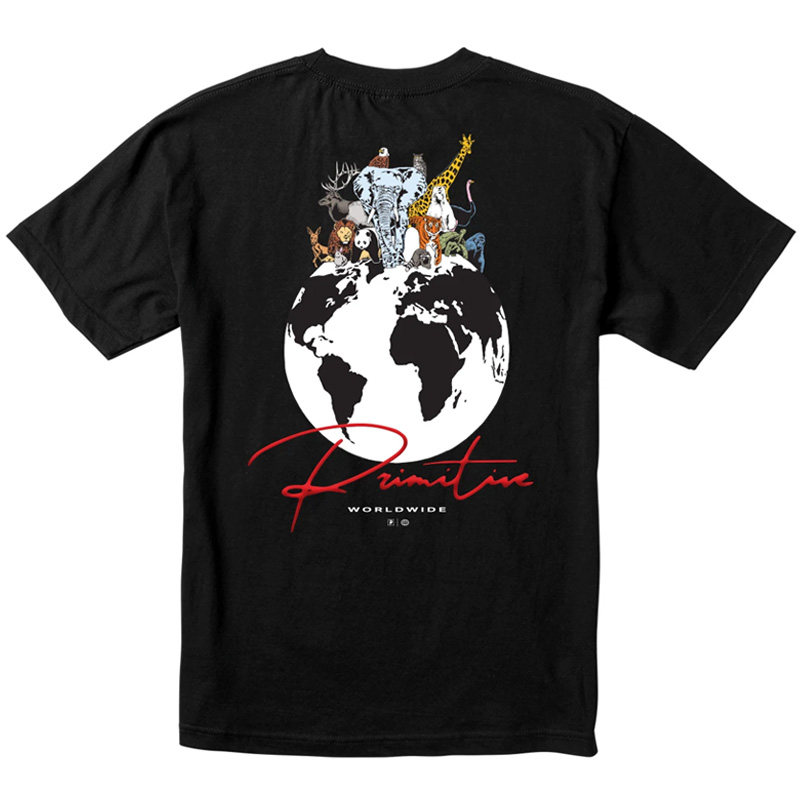 Primitive Kingdom T-Shirt Black