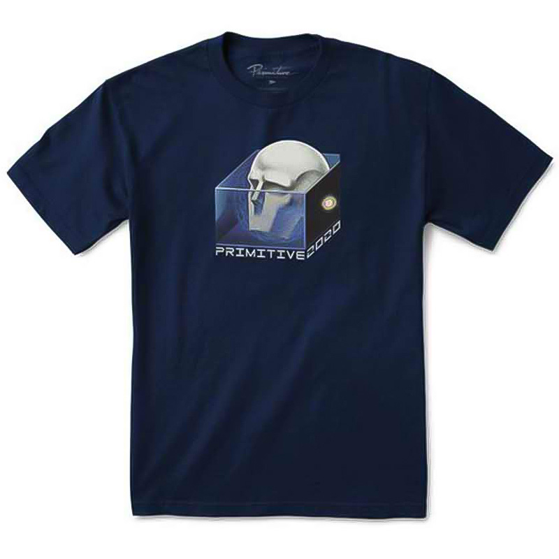 Primitive Mind Control T-Shirt Navy