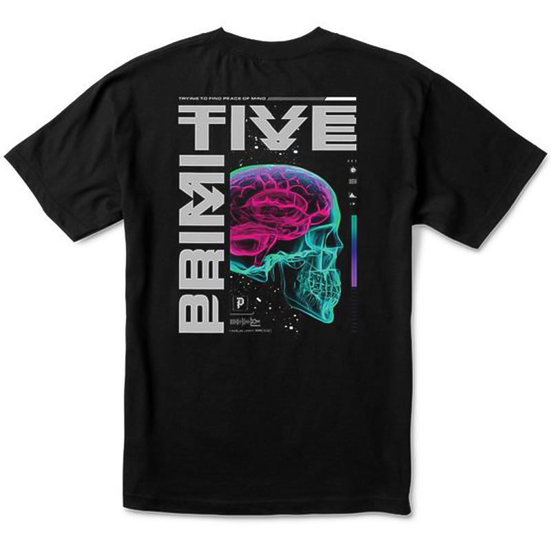 Primitive Peace Of Mind T-Shirt Black