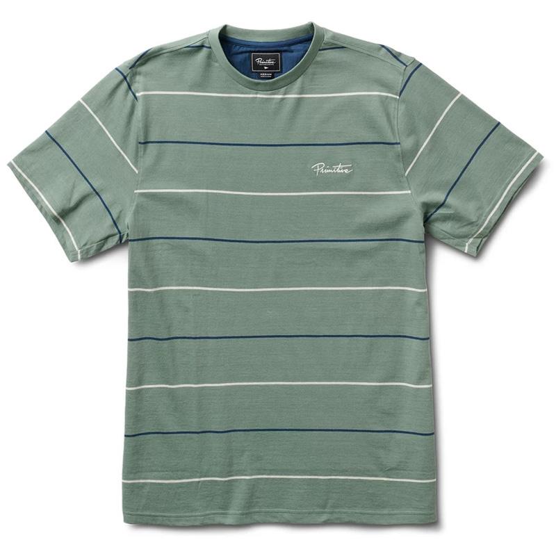 Primitive Slauson Knit T-Shirt Olive