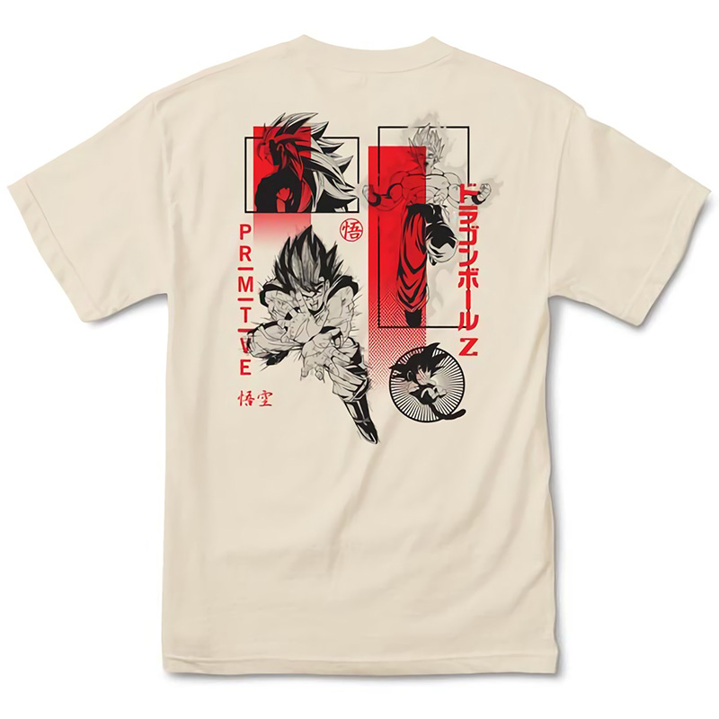 Primitive x DBZ Collage T-Shirt Cream