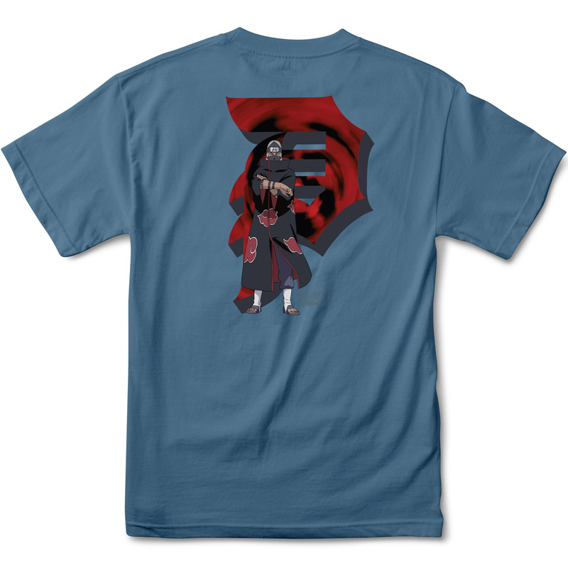 Primitive x Naruto Kazuku T-Shirt Slate