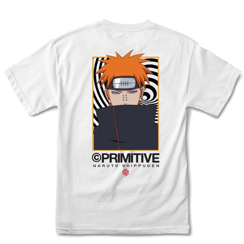 Primitive x Naruto Know Pain T-Shirt White