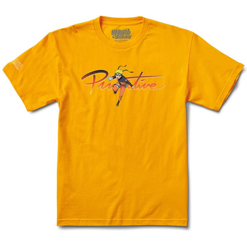 Primitive X Naruto Nuevo T-Shirt Gold
