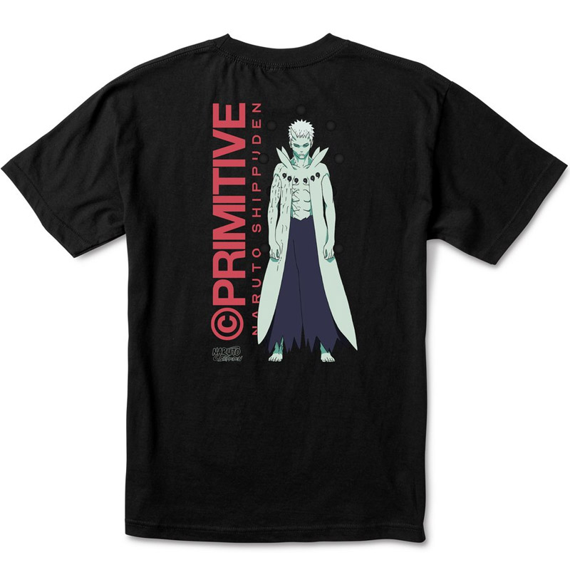 Primitive x Naruto Obito T-Shirt Black
