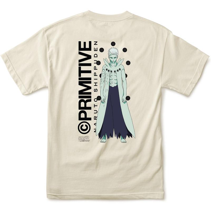 Primitive x Naruto Obito T-Shirt Cream