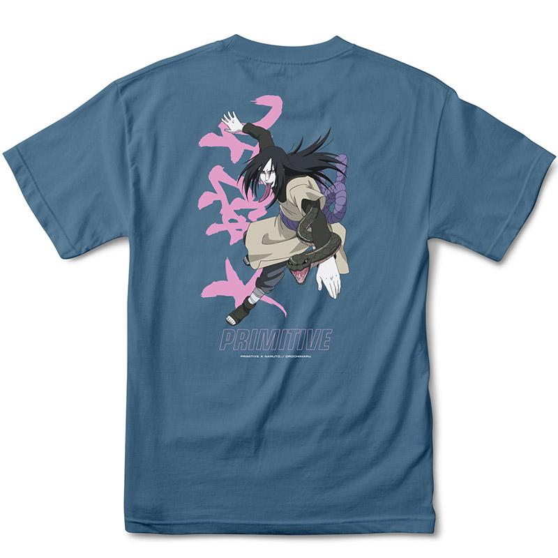 Primitive X Naruto Serpent T-Shirt Slate