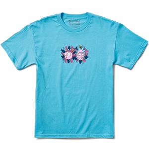 Primitive x Rick & Morty Dirty P T-Shirt Pacific Blue