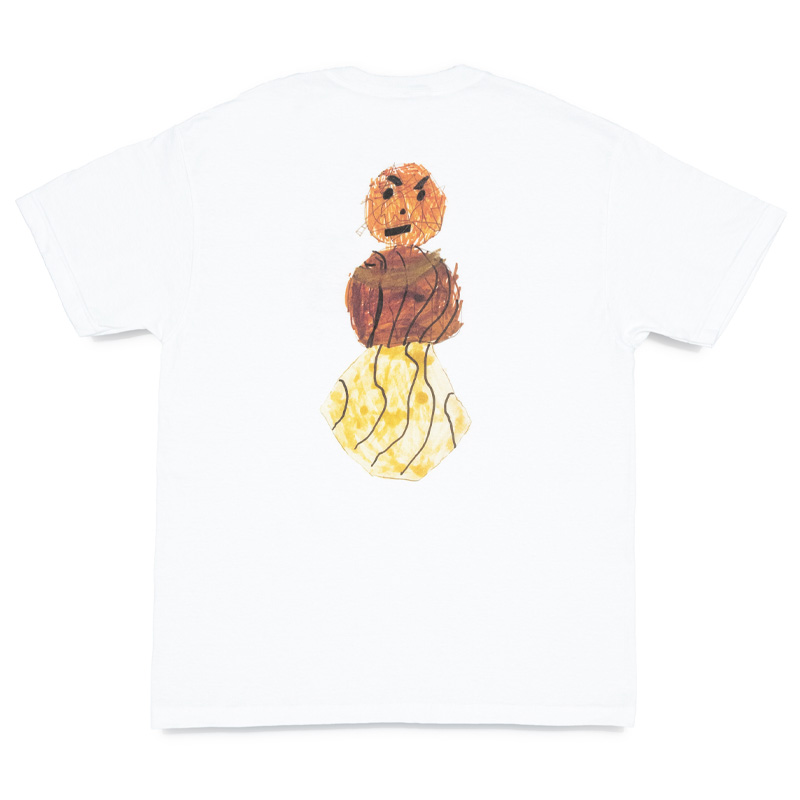 Quartersnacks Mother's Day Snackman Charity T-Shirt White