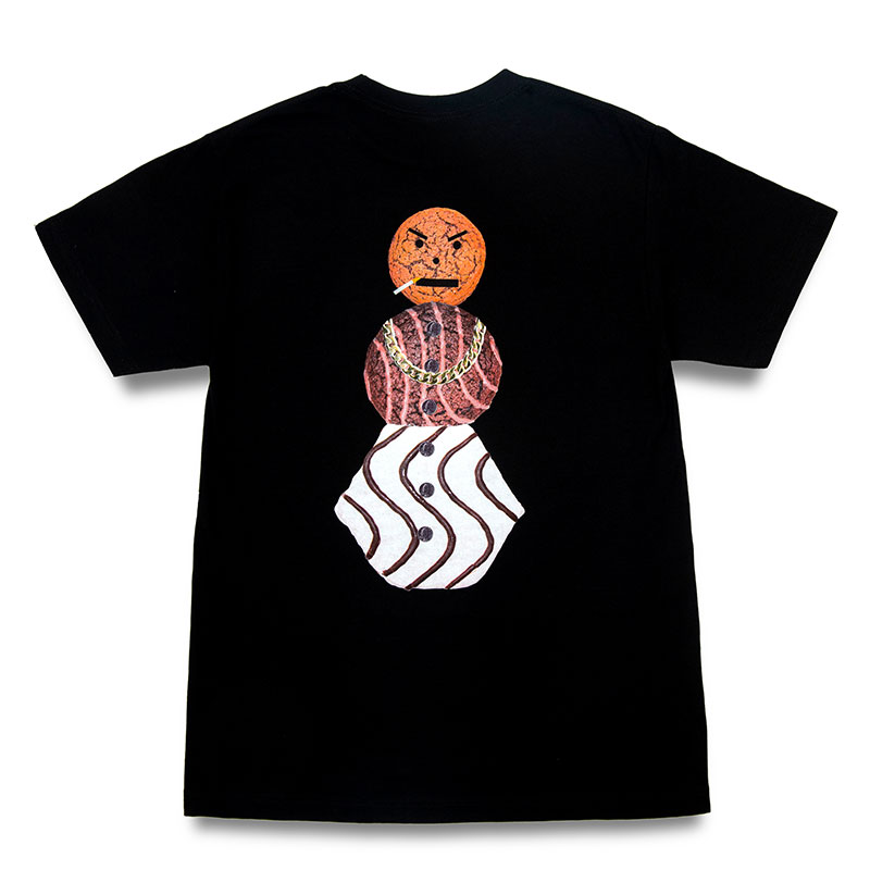 Quartersnacks Snackman T-Shirt Black