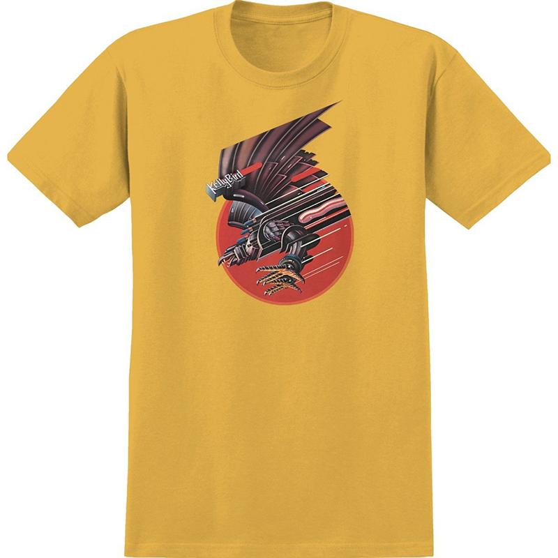 Real Screaming Bird T-shirt Gold
