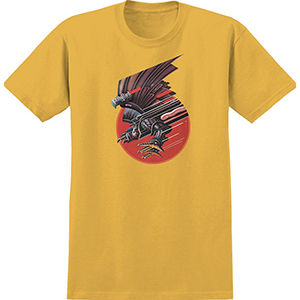 Real Screaming Bird T-shirt Gold