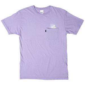 RIPNDIP A Nermal Splash Pocket T-Shirt Lavender