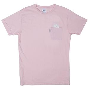 RIPNDIP A Nermal Splash Pocket T-Shirt Light Pink