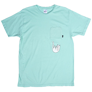 RIPNDIP Falling For Nermal Pocket T-Shirt Mint