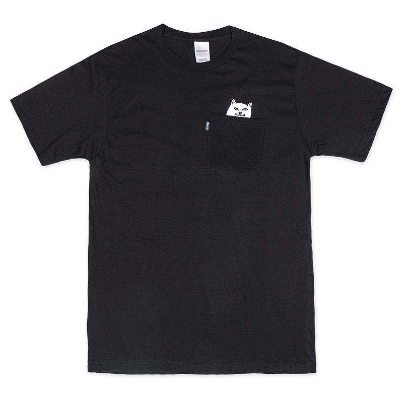 RIPNDIP Lord Nermal Pocket T-Shirt Black