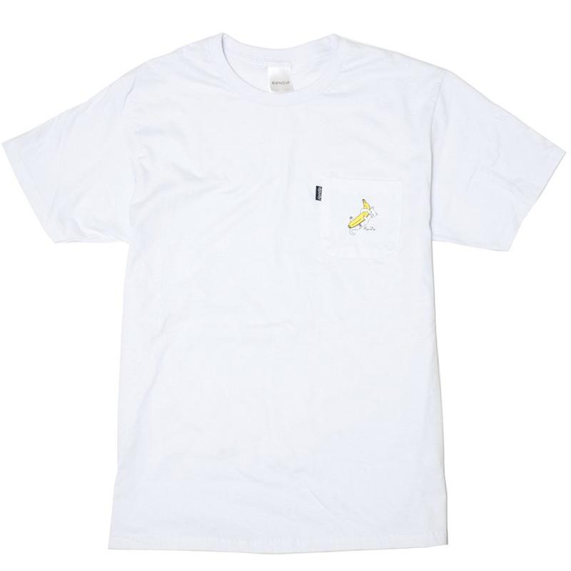 RIPNDIP Nermal Banana T-Shirt White