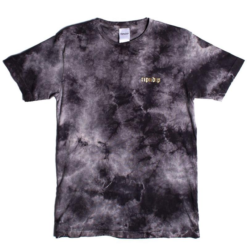RIPNDIP All Hail T-Shirt Black Acid Wash
