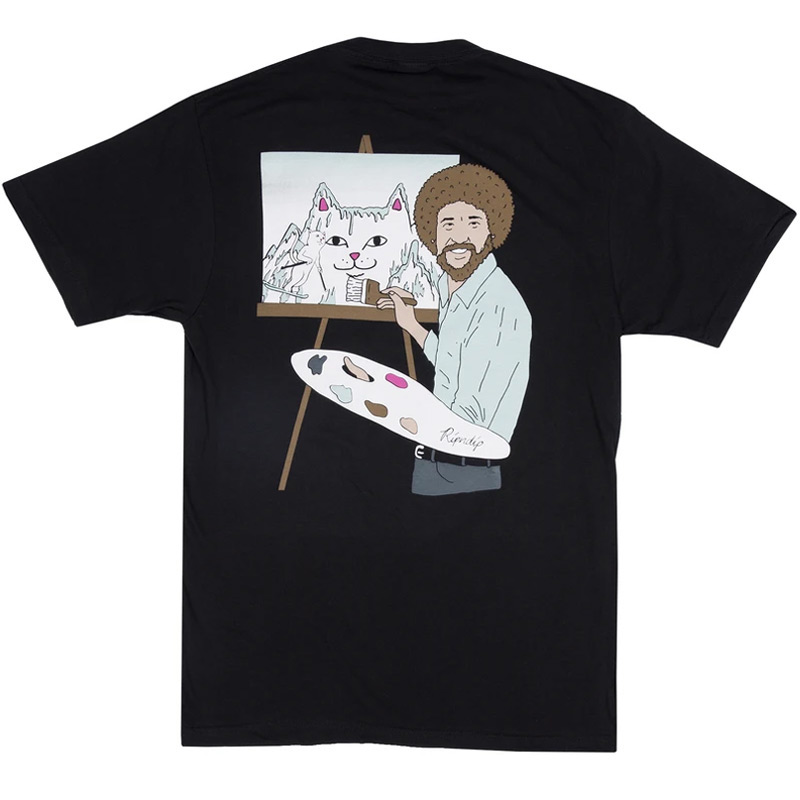 RIPNDIP Beautiful Mountain T-Shirt Black