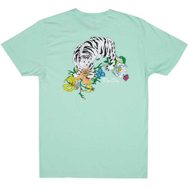 RIPNDIP Blooming Nerm T-Shirt Mint