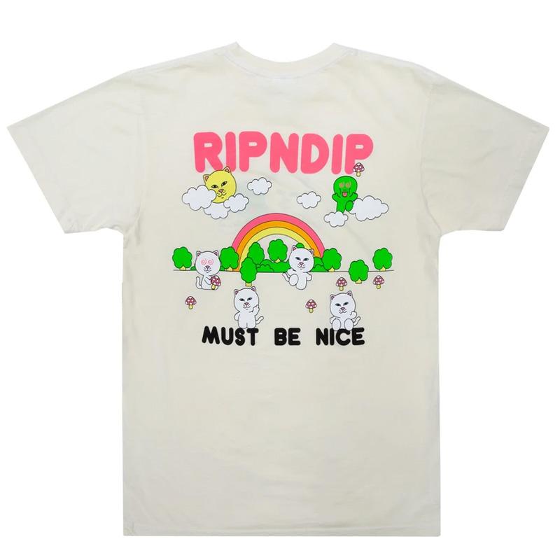 RIPNDIP Buddy System T-shirt Natural