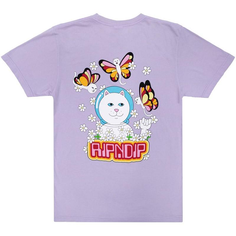 RIPNDIP Butterfly T-Shirt Lavender