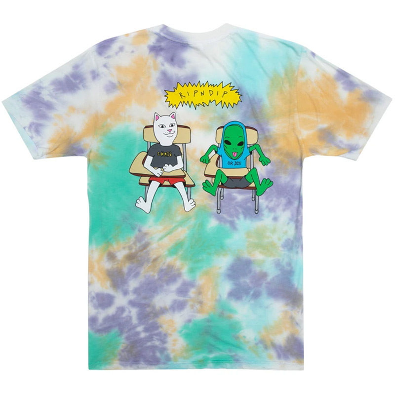 RIPNDIP Butz Up T-Shirt Multi Cloud Wash