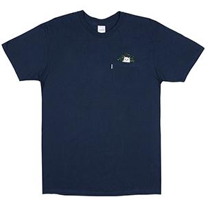 RIPNDIP Catnip Pocket T-Shirt Navy Blue