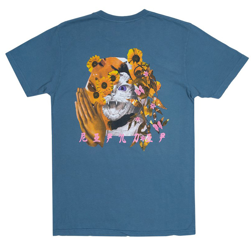 RIPNDIP Chaos T-Shirt Slate Blue