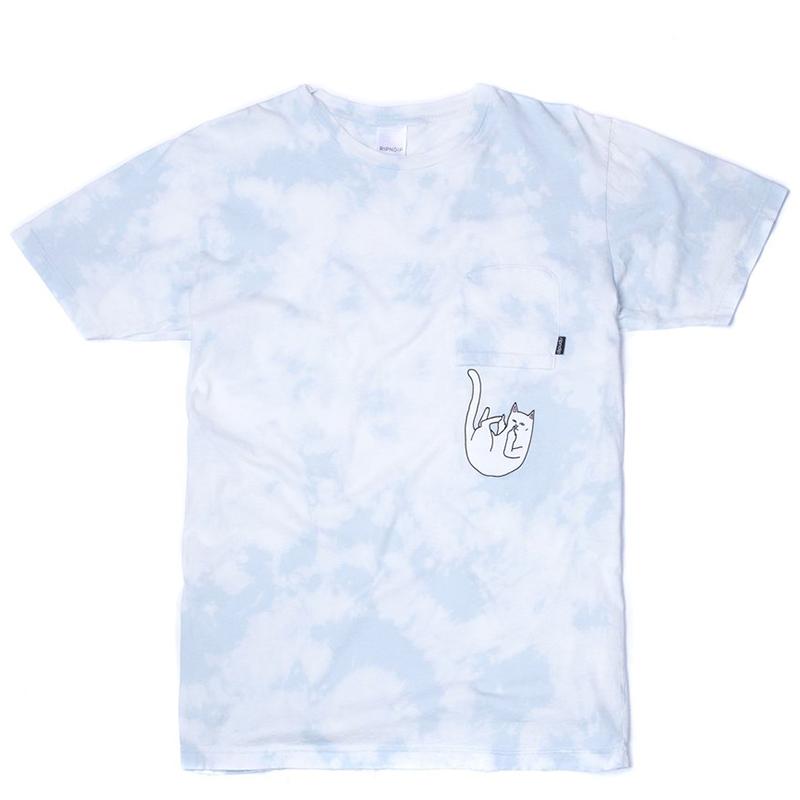 RIPNDIP Falling For Nermal Pocket T-Shirt Sky