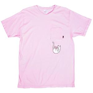 RIPNDIP Falling For Nermal T-Shirt Pink