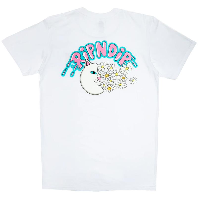 RIPNDIP Floating Pocket T-Shirt White