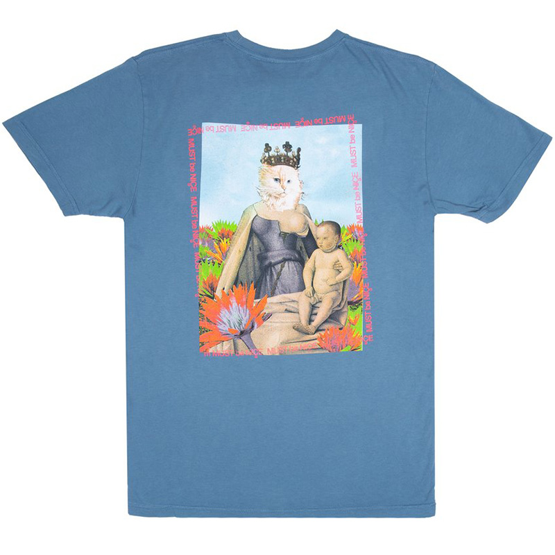 RIPNDIP Fouquet Madonna T-Shirt Powder Blue