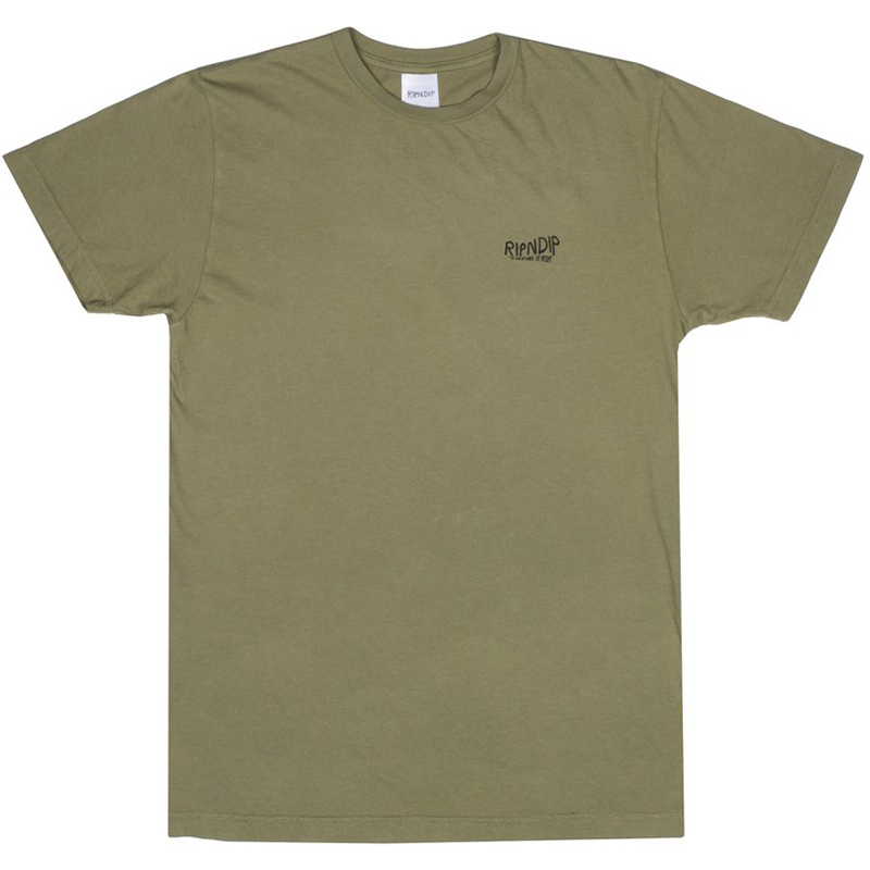 RIPNDIP Great Wave T-Shirt Olive