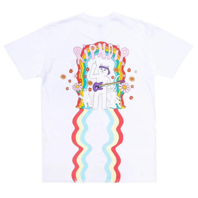 RIPNDIP Groovy Nerm T-Shirt White
