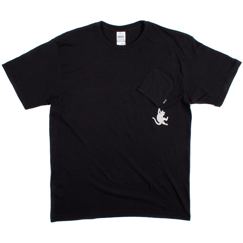 RIPNDIP Hang In There T-Shirt Black