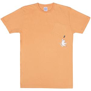 RIPNDIP Hang In There T-Shirt Orange