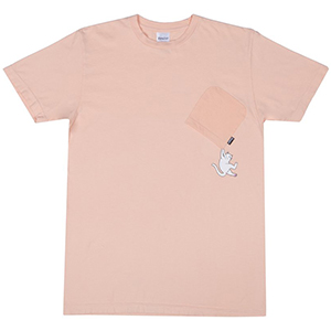 RIPNDIP Hang In There T-Shirt Peach