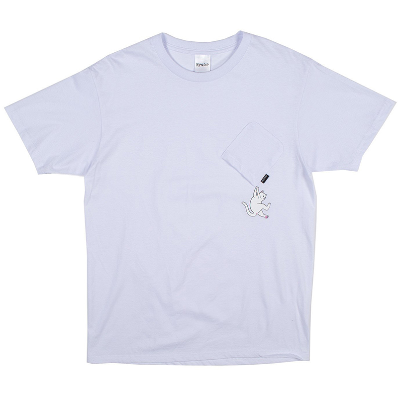 RIPNDIP Hang In There T-Shirt White
