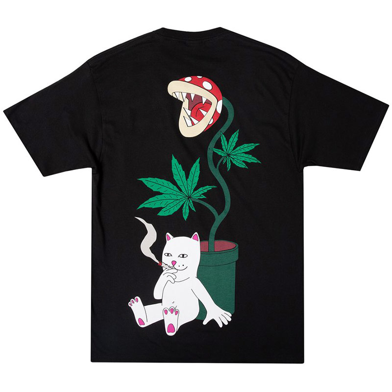 RIPNDIP Herb Eater Pocket T-Shirt Black