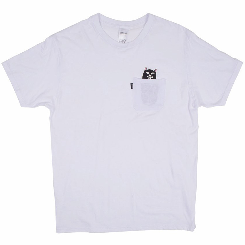 RIPNDIP Jermal Pocket T-Shirt White