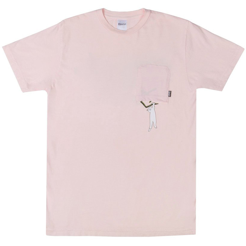 RIPNDIP Jungle Nerm T-Shirt Pink
