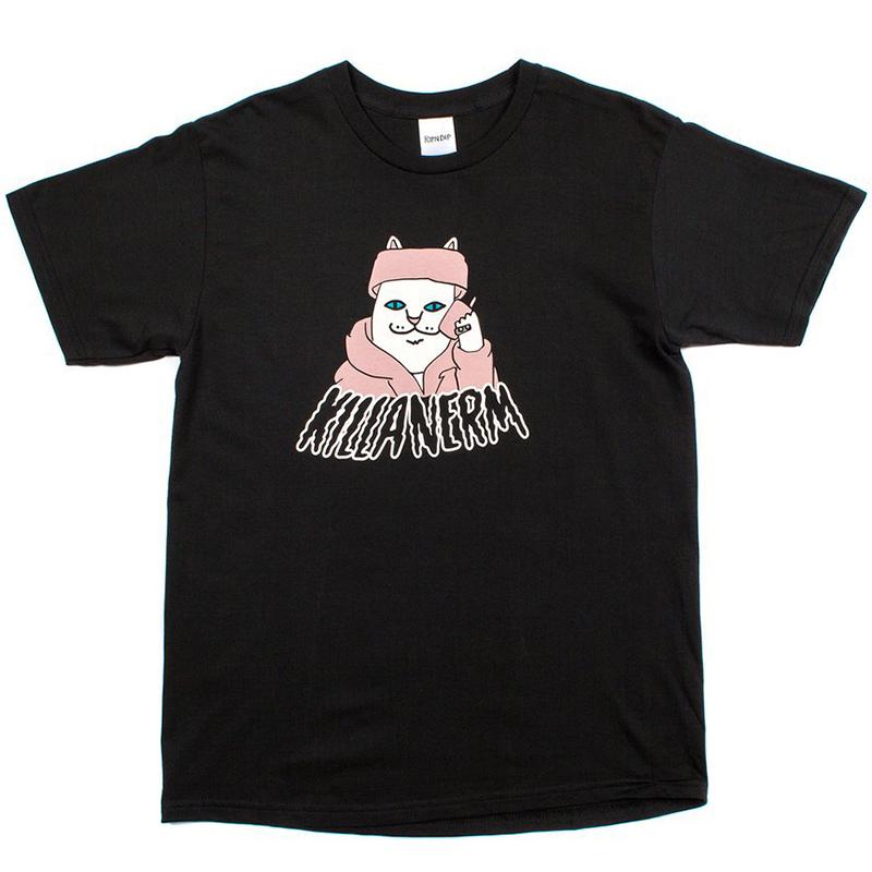 RIPNDIP Killa Nerm T-Shirt Black