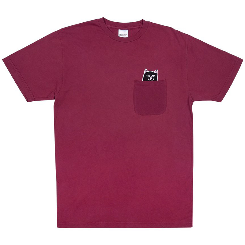 RIPNDIP Lord Jermal Pocket T-Shirt Wine