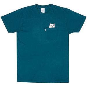 RIPNDIP Lord Nermal Pocket T-Shirt Aqua