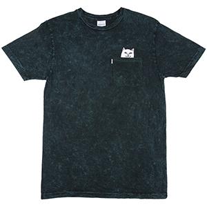 RIPNDIP Lord Nermal Pocket T-Shirt Aqua Mineral Wash
