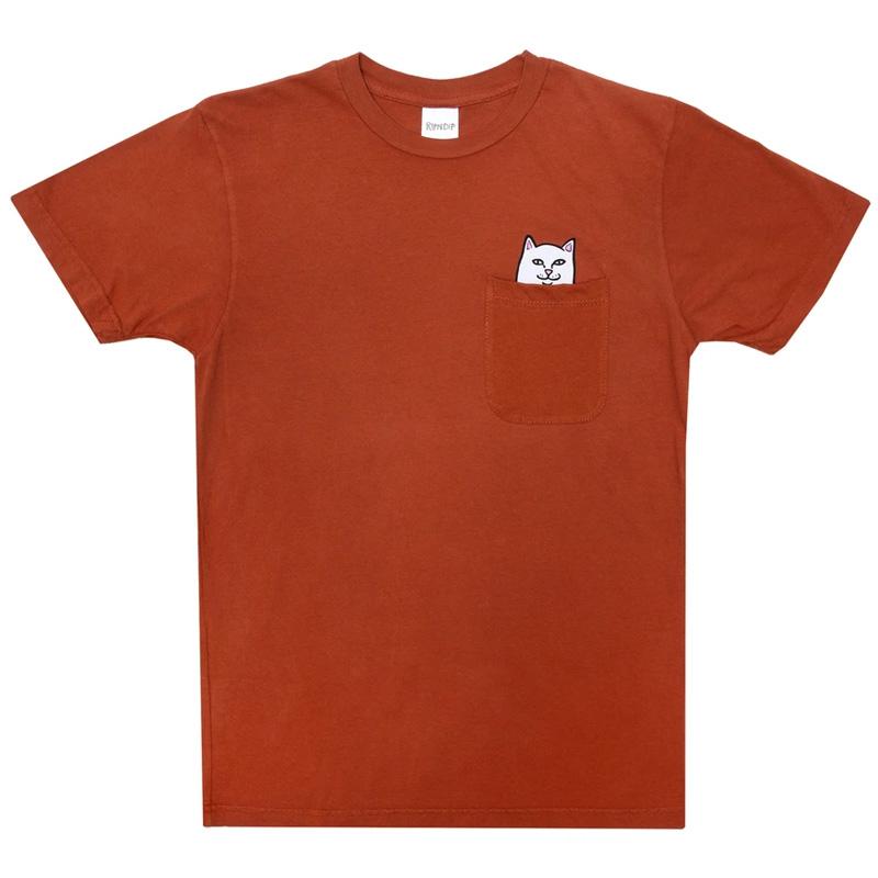 RIPNDIP Lord Nermal Pocket T-shirt Cotta Orange