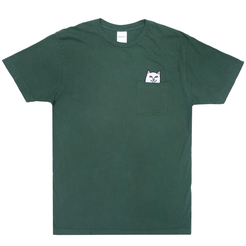 RIPNDIP Lord Nermal Pocket T-Shirt Olive